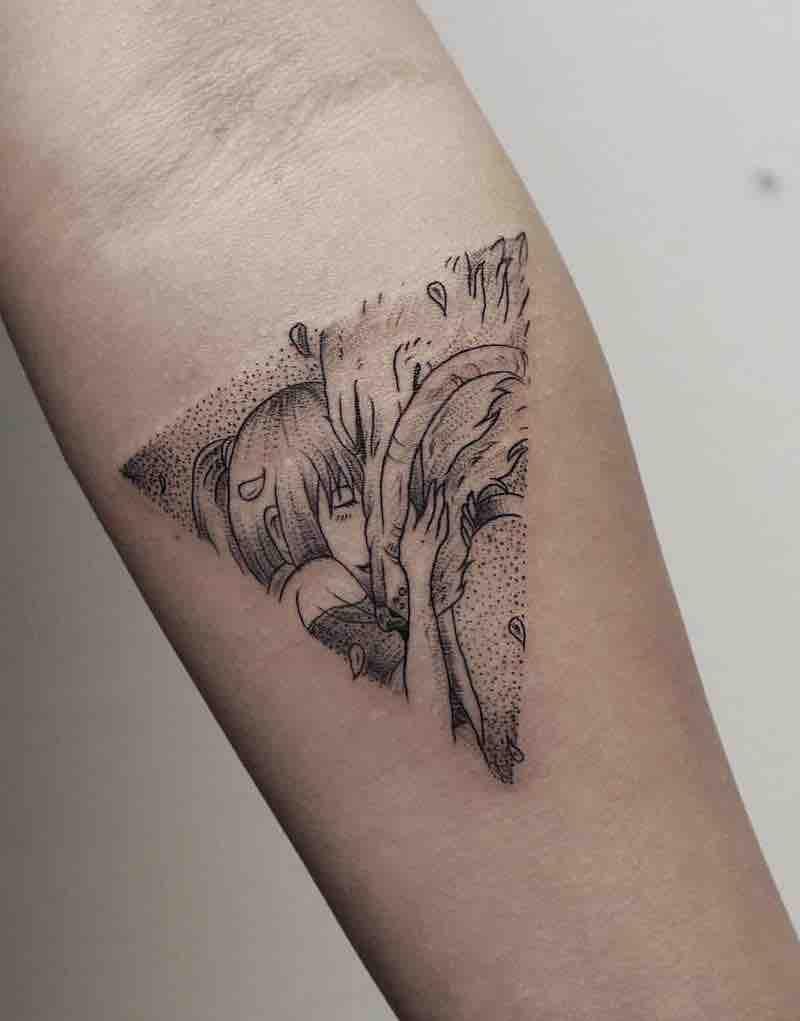 Spirited Away Tattoo 2 by Phoebe Hunter