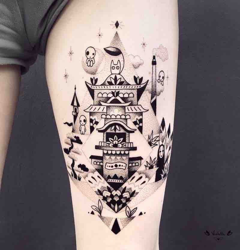 Spirited-Away-Tattoo-2-by-Violette-Chabanon
