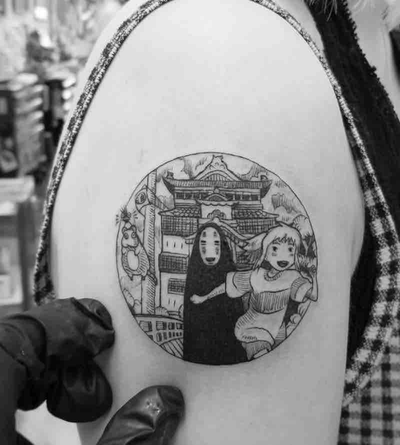 Spirited Away Tattoo by Alexandyr Valentine