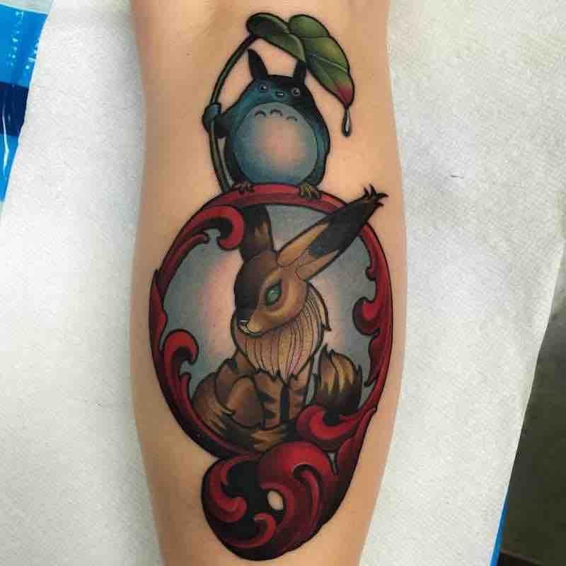 Studio Ghibli Tattoo by Billy Weigler