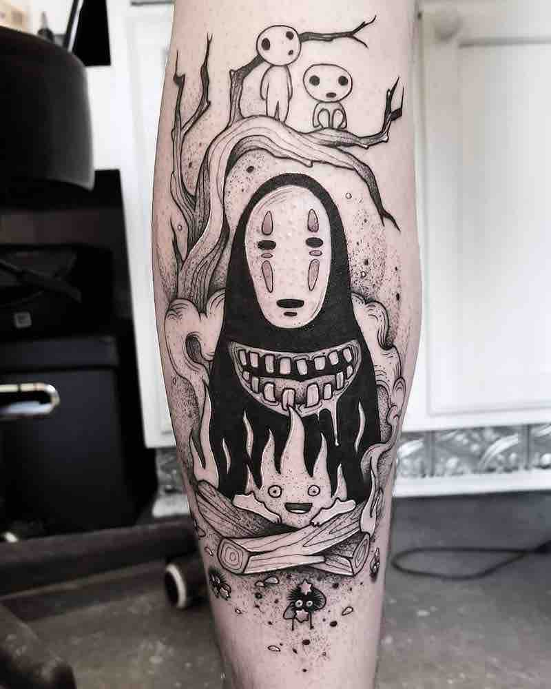 Studio Ghibli Tattoo by Cutty Bage