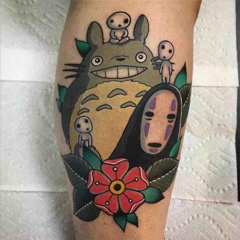 Studio Ghibli Tattoo by Keith Kuzara