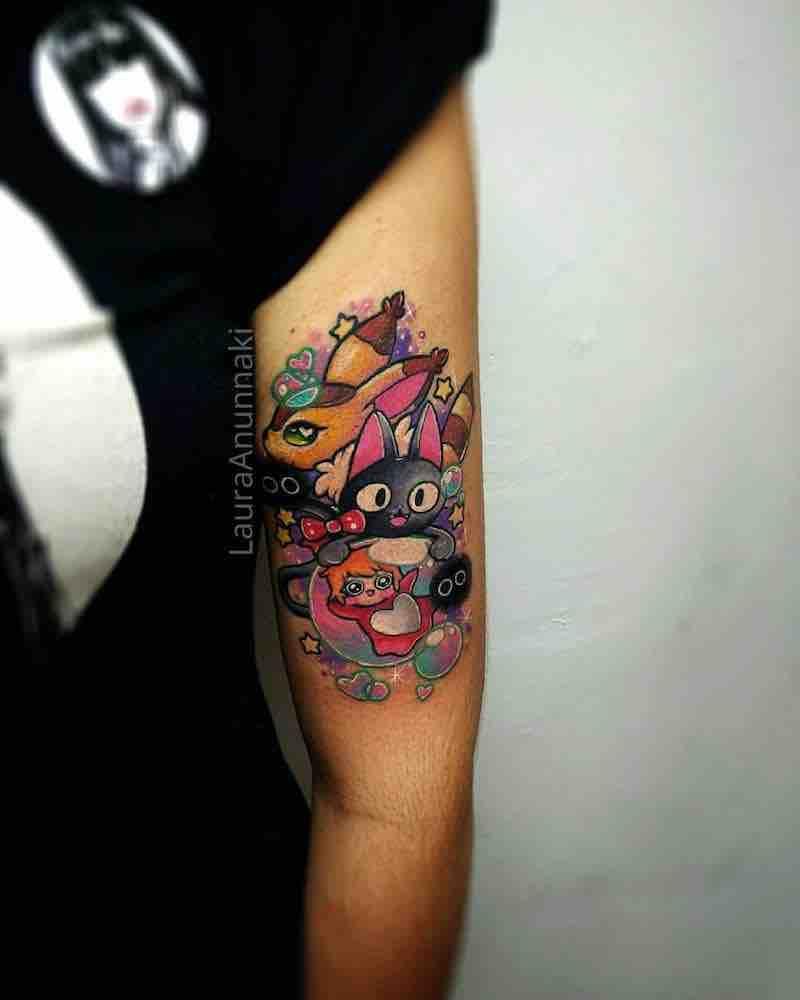 Studio Ghibli Tattoo by Laura Anunnaki