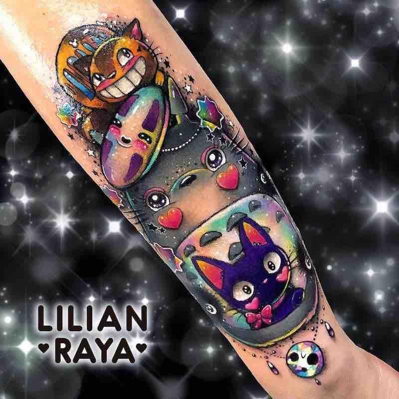 Studio Ghibli Tattoo by Lilian Raya