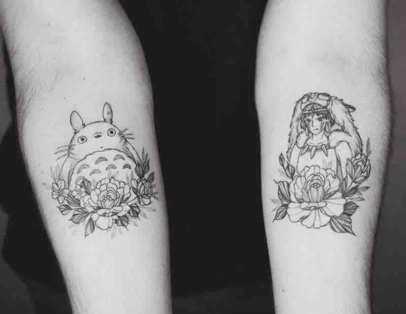 Studio Ghibli Tattoo by Phoebe Hunter