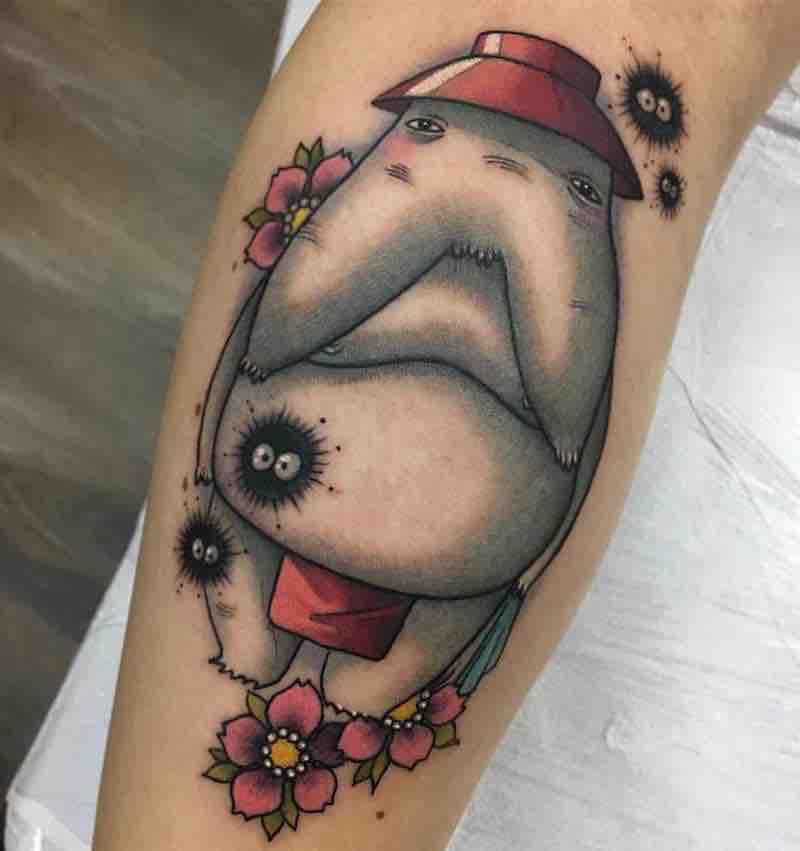 The Radish Spirit Tattoo by Enrik Gispert