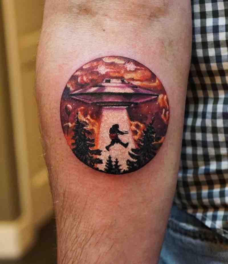 UFO Tattoo by Ksu Arrow