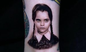 The Very Best Wedesday Addams Tattoos