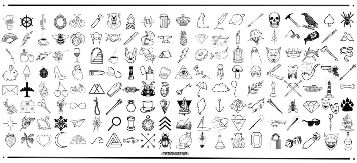 160 Original Small Tattoo Designs
