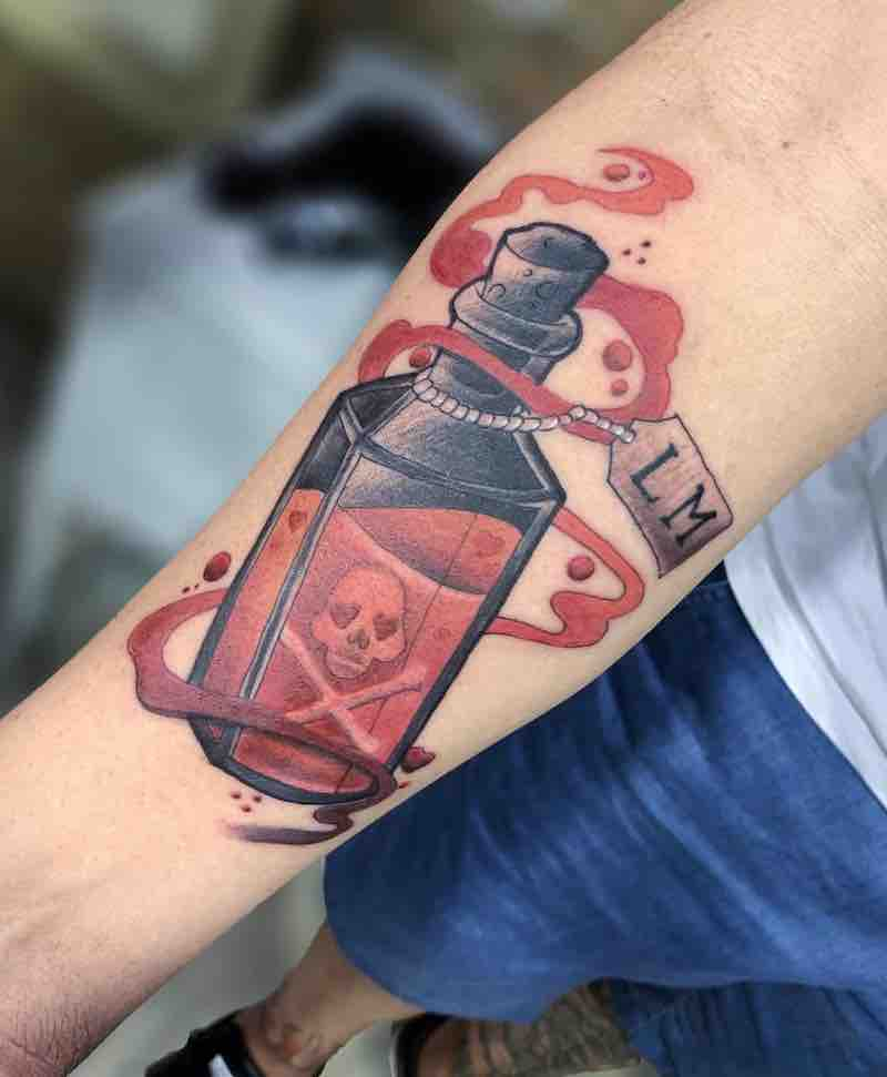 Poison Tattoo by Glauber Lets